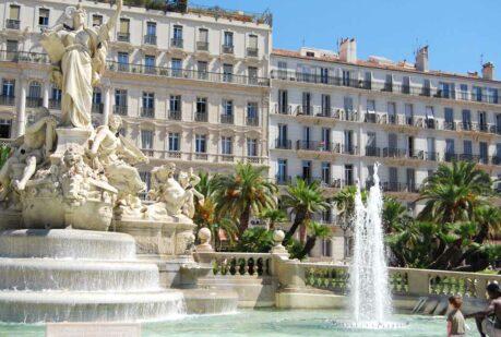 Toulon place de la Liberté