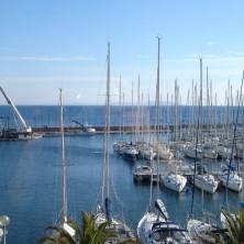 location de vacances vue port