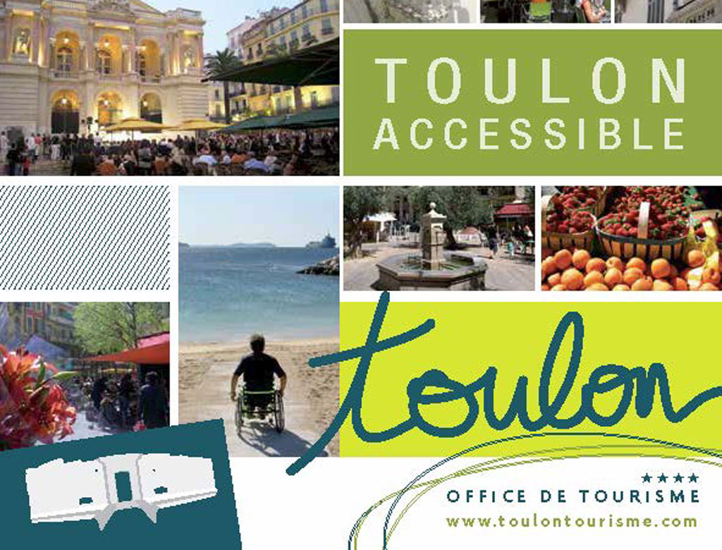 D couvrez la brochure toulon accessible toulon tourisme - Office de tourisme la valette du var ...