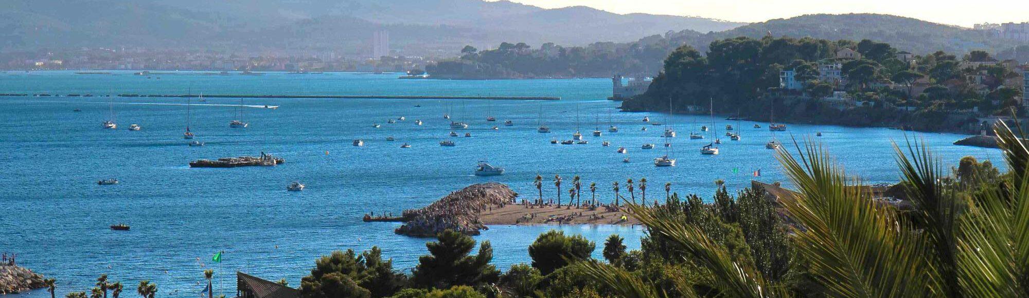 Hôtel à Toulon Les Voiles vue mer