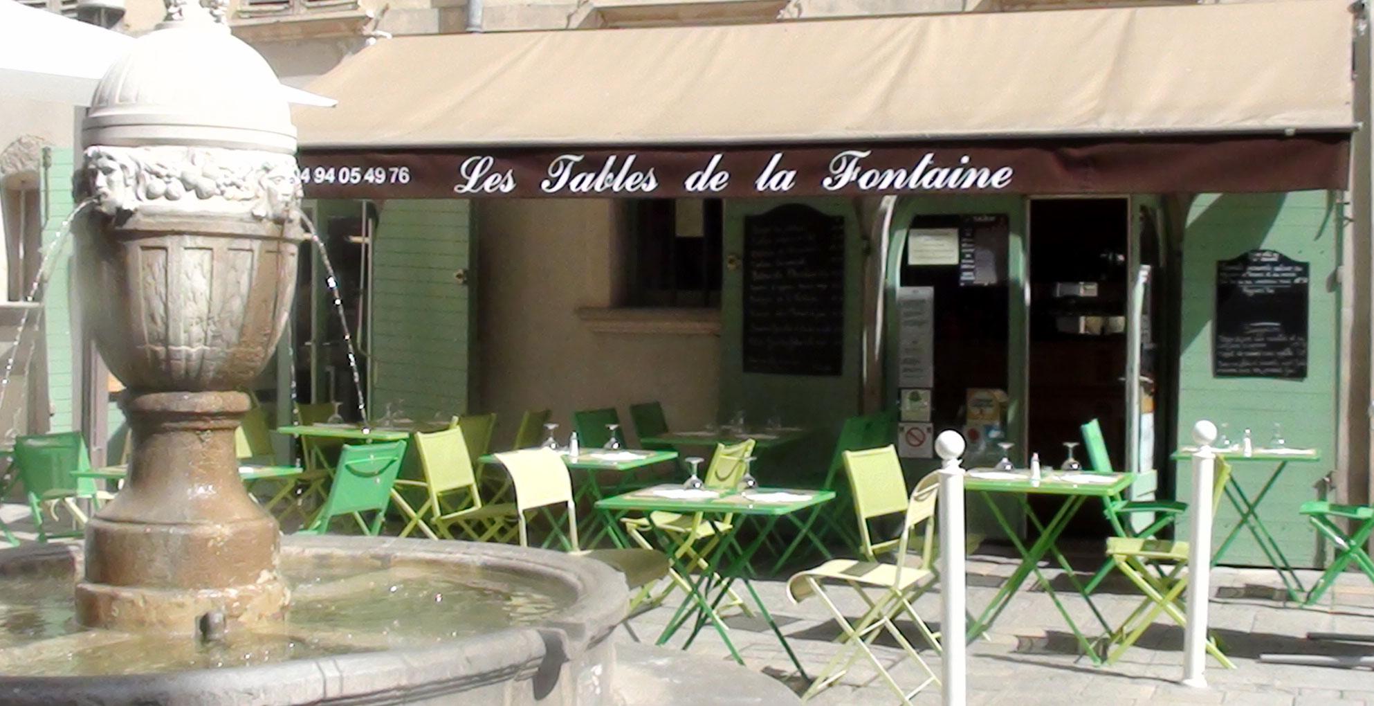 Les tables de la fontaine toulon tourist office - La fontaine family office ...
