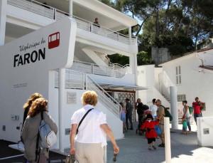 telepherique de Toulon gare de départ