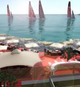 Louis Vuitton America's cup world series 2016 à Toulon plages du Mourillon