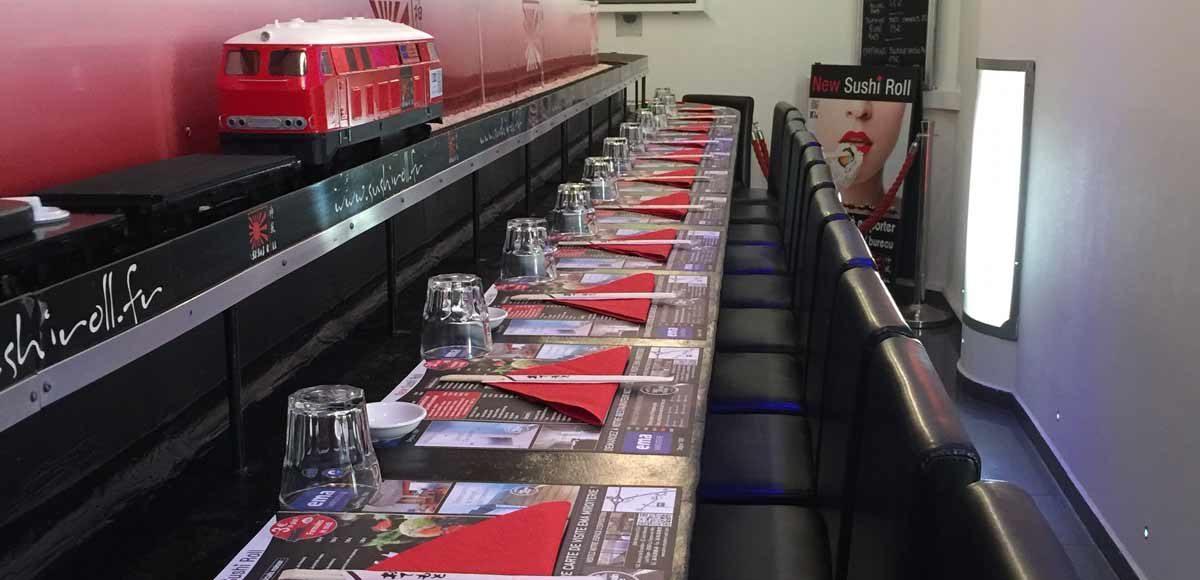 New Sushi Roll et L'Esprit Tapas