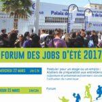Forum des jobs d'été 2017
