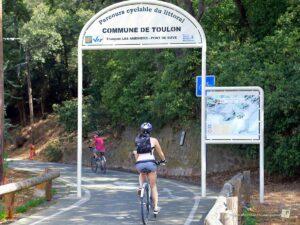 piste cyclable toulon